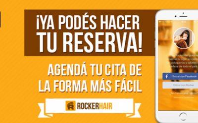 RockerHair, lanza app para agendar horario en centros estéticos