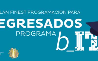 Plan FINEST Programación para Egresados del Programa b_IT de Cuti