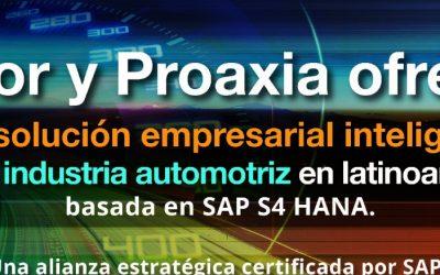 Seidor y Proaxia acuerdan la distribución de la solución VSS para la industria automotriz