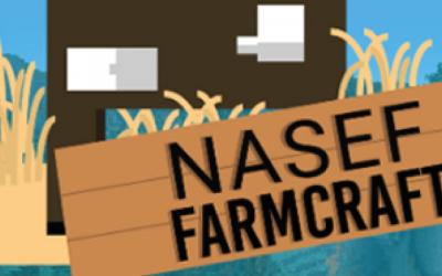 Farmcraft: Jóvenes uruguayos podrán participar en un desafío de agricultura y ganadería dentro del videojuego Minecraft