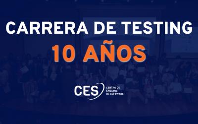 10 años de la Carrera de Testing del CES