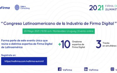 Es Hoy! 10:30hs GMT-3 Congreso Latinoamericano de la Industria de Firma Digital