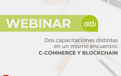 CEDU brindó capacitación sobre c-Commerce y blockchain