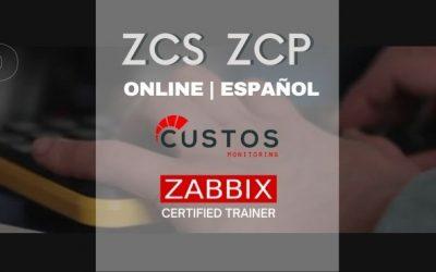 Cursos oficiales ZABBIX.