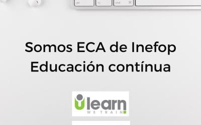 Ulearn: Somos ECA de Inefop