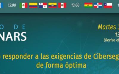 Hacknoid invita a su próximo webinar sobre Ciberseguridad