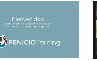 Cómo configurar anuncios en Facebook y Google fue el eje central de un nuevo taller de Fenicio Training