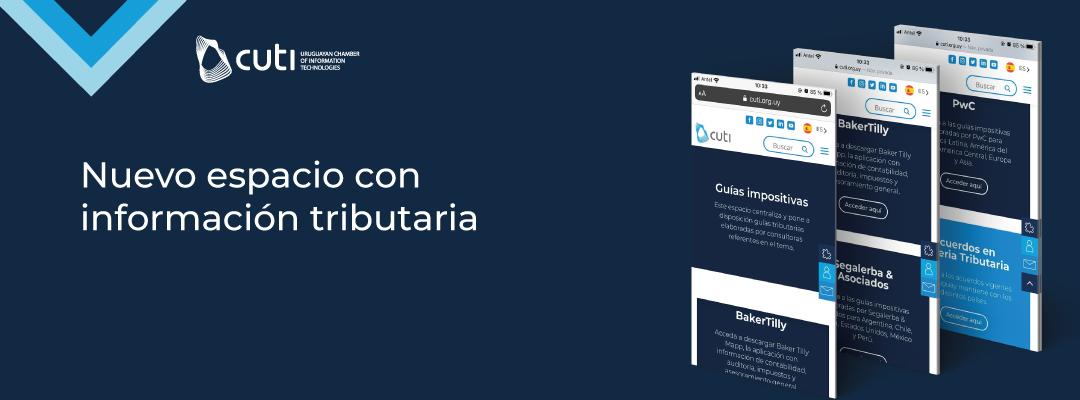 Cuti presenta nuevo espacio de Información Tributaria